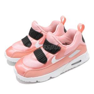 Nike 復古慢跑鞋 Air Max Tiny 90 VDAY TD 情人節限定款 粉紅 黑 休閒鞋 童鞋 小童鞋【PUMP306】 AV3195-600