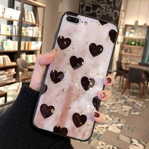 愛心蘋果8plus手機殼蘋果x硅膠軟殼iPhonexs max全包8x 青木鋪子