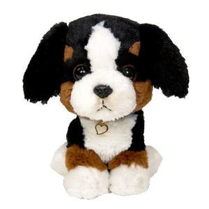 日本PUPS可愛玩偶 伯恩山犬 仿真小狗 絨毛娃娃公仔毛絨玩具狗聖誕節禮物生日禮物紀念品小孩送禮