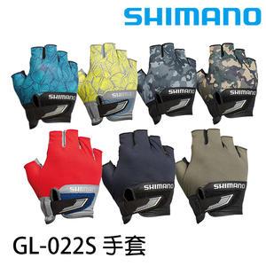 漁拓釣具 SHIMANO GL-022S 黑 (釣魚手套)