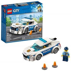 LEGO 樂高 City Police Patrol Car 60239 Building Kit (92 Piece)