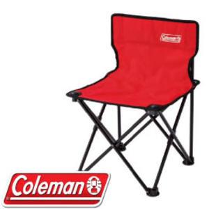 【Coleman 美國 吸震摺椅 紅】CM-26845/折疊椅/露營椅/導演椅★滿額送