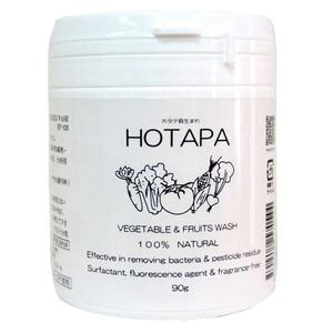 日本 Hotapa 貝殼 天然 蔬菜清潔粉 90g 【0544】