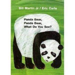【麥克書店】PANDA BEAR PANDA BEAR WHAT DO YOU SEE /英文繪本附CD