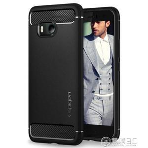 spigen HTC U11手機殼U11防摔硅膠全包超薄軟殼保護套男女款韓國   電購3C