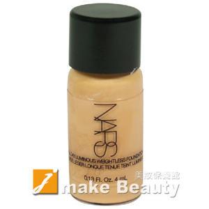 NARS 裸光奇肌粉底液(4ml)《jmake Beauty 就愛水》