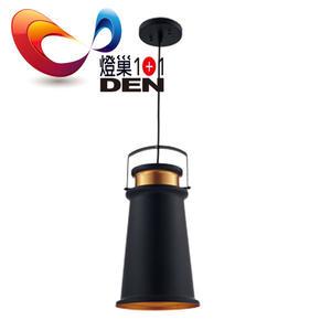 燈巢1+1】 燈具。燈飾。Led居家照明。桌立燈 工廠直營批發 吉爾金屬單燈吊燈 02088798