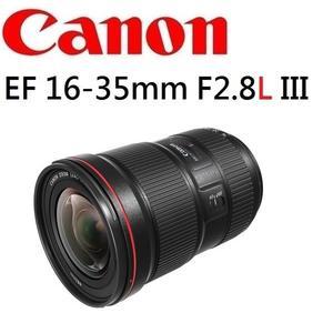 名揚數位 CANON EF 16-35mm F2.8 L III  USM  佳能公司貨  (一次付清)  最新第三代