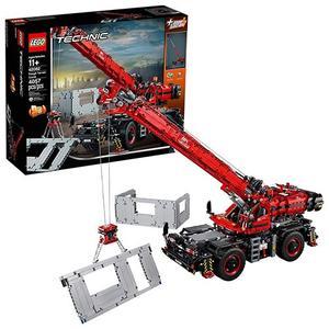 LEGO 樂高 起重機 Technic Rough Terrain Crane 42082 Building Kit (4056 Piece)
