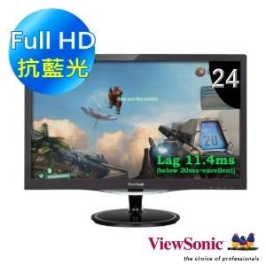 【限量下殺】優派 ViewSonic VX2457-mhd  24型電競寬螢幕