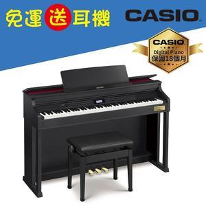 【卡西歐CASIO官方旗艦店】CELVIANO 數位鋼琴AP-700黑色(送清潔組)