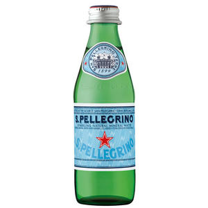 【聖沛黎洛S.P. 】天然氣泡礦泉水(250ml) x 24瓶 (箱購)