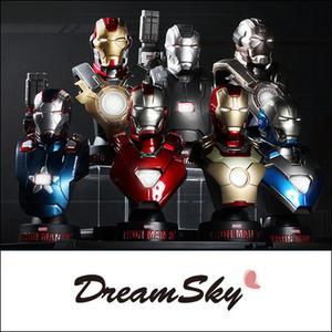 正版 野獸國 MARVEL 授權 Hot Toys 鋼鐵人3 Iron Man3 1/6 比例 胸像組 限量 DreamSky