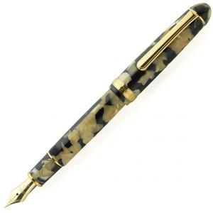 白金牌鋼筆3776系列琥珀色鯉魚14k鋼筆(賽璐璐材質)*須預訂PTB35000S
