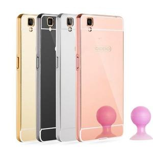 【SZ】sony xperia c5 ultra手機殼 電鍍框+鏡面背板 SONY Z手機殼 SONY Z1手機殼 M5手機殼