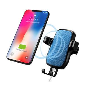 【漢博】車用 無線充電器 無線車用充電架 無線快充 ※送藍芽耳機 Android/ iphone 通用