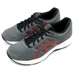 《7+1童鞋》男段 ASICS 亞瑟士 GEL-CONTEND 5 輕量透氣 運動鞋 慢跑鞋 5184  灰色
