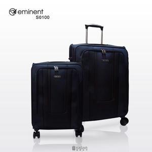 萬國通路 Eminent 雅仕 輕量 大容量 墨藍色 商務箱 行李箱 布箱 20吋 旅行箱 S0100