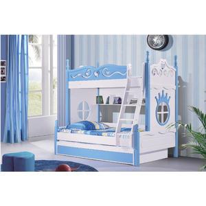 「首雅傢俬」維娜思雙人上下舖 兒童高低床 三層床 功能床 收納床(預購款)