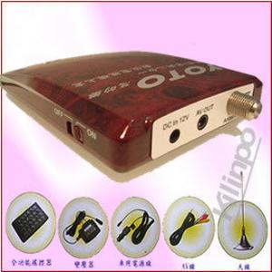 YOTO車用、家用二合一數位電視機上盒/電視盒 車速達130Km/h 仍可清晰收視[悠樂生活館]