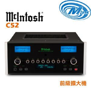 《麥士音響》 McIntosh 前級擴大機 C52