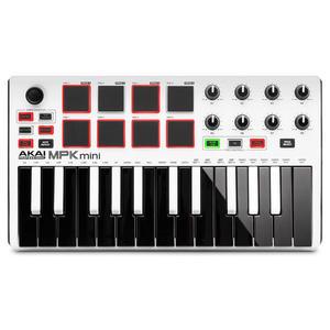 【WowLook】原廠福利機 二代 Akai MPK mini MKII MK2 MIDI 鍵盤