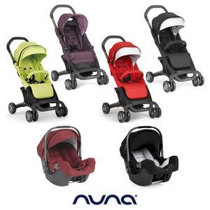 【愛吾兒】nuna Pepp Luxx推車+Pipa提籃 買就送涼感小座墊&Nuna時尚提袋