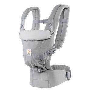 美國ERGObaby 全階段式嬰兒揹帶-灰色