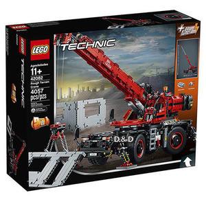 樂高積木 LEGO 2018《 LT42082 》Technic 科技系列 - 曠野地形起重機╭★ JOYBUS玩具百貨