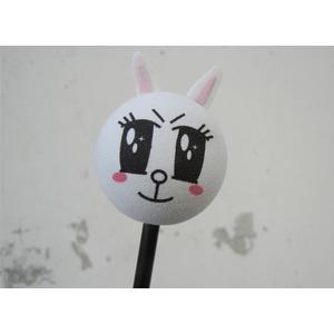 小兔子 兔子 汽車收音機 天線球 裝飾天線 天線娃娃 裝飾娃娃 旗子造型球 天線裝飾球