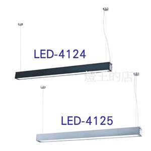 【燈王的店】舞光 LED T8 4尺 x1 日光燈具 吊燈  燈管另計 鋁合金 壓克力罩不剌眼  ☆ LED4124/LED4125