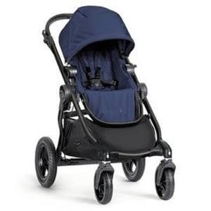 『121婦嬰用品館』baby jogger city select 單雙人全能推車 黑管藍(不含第二座椅)