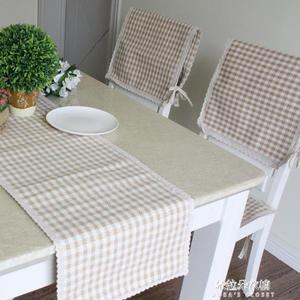 訂製特香芋奶茶格子手工餐桌椅套坐墊椅墊餐椅墊扶手巾薄款  朵拉朵衣櫥