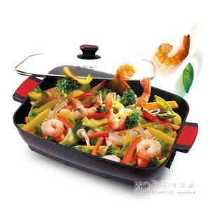 諾烤肉鍋韓國電烤盤韓式家用無煙多功能電燒烤爐烤魚爐烤肉機 220v 居家物語