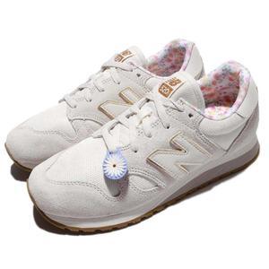 New Balance 復古慢跑鞋 520 NB 米白 白 麂皮 碎花內裡 小花 運動鞋 女鞋【PUMP306】 WL520CCB