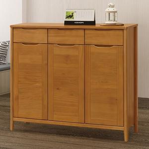 【森可家居】米堤柚木色4尺鞋櫃 8ZX708-3 收納櫃