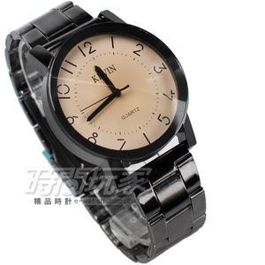 KEVIN 簡單數字時刻 時尚腕錶 IP黑電鍍 男款 文青/中性/男錶/女錶/對錶 都適合 漸層 KEV2068數字大