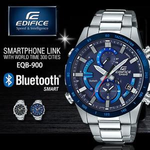 【公司貨】EDIFICE EQB-900DB-2A 高科技藍牙太陽能智慧錶款 EQB-900DB-2ADR