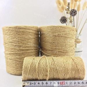 粗麻繩 黃麻繩優質麻繩復古裝飾粗細麻繩麻繩捆綁繩子 寶貝計畫