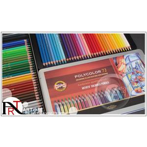 『ART小舖』捷克KOH-I-NOOR 72色藝術家油性彩色鉛筆 鐵盒 No.382772