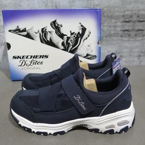 【iSport愛運動】Skechers D LITE THIS JUST IN 休閒鞋 11913NVY 深藍 女款