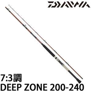 漁拓釣具 DAIWA 16 DEEP ZONE 200-240 (船釣竿)