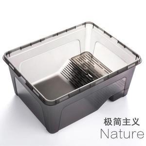 帶曬台烏龜缸 水龜飼養盒巴西龜草龜育苗盆飼養箱透明眠別墅ATF 格蘭小舖