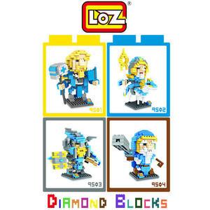 LOZ 迷你鑽石小積木 刀塔傳奇 魔獸 LOL 系列 樂高式 組合玩具 益智玩具 原廠正版 超大盒款