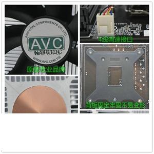 4針線溫控1155 1150 i3 i5 CPU風扇