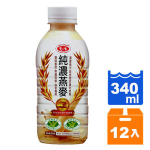 愛之味純濃燕麥340ml(12入)/箱【售完為止】【康鄰超市】