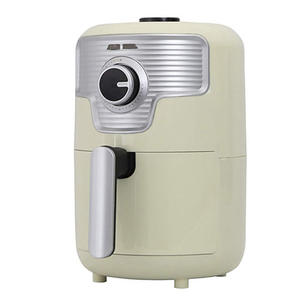 S-cubism【日本代購】氣炸鍋 零油健康1.6L 小巧個人用NFC-16LG-復古白