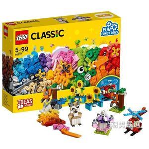 樂高積木樂高經典創意系列10712齒輪創意拼砌盒LEGO積木玩具xw