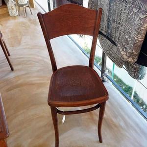 【義大利古董】簡約木椅(餐桌椅/ 聚會椅/ 家居用品)