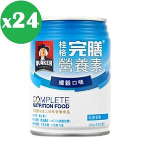 桂格-完膳營養素-纖穀口味*24罐(箱購) 大樹